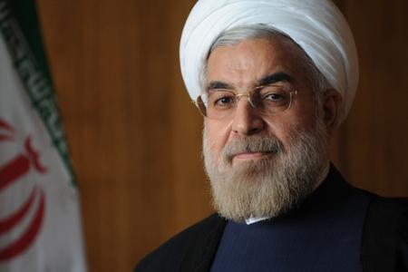 İran prezidentinin maraqlı fotosu yayıldı - FOTO