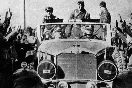 Adolf Hitlerin zirehli avtomobili hərraca çıxarılıb
