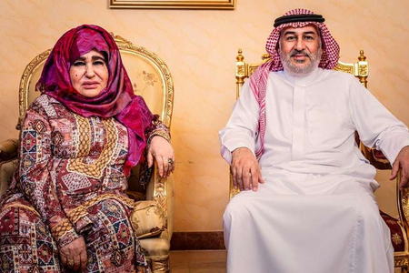 Üsəma bin Ladenin anası: