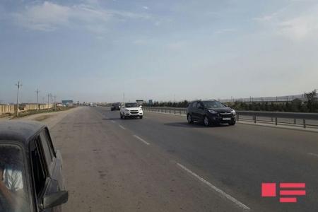 Bakı-Quba avtomobil yolunda nəqliyyatın hərəkəti bərpa olunub