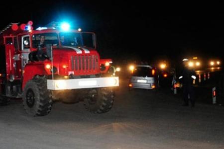 Orenburq vilayətində baş verən yanğında beş nəfər ölüb