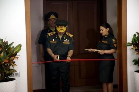 Zakir Həsənov Komanda İdarəetmə Mərkəzinin yeni inzibati binasının açılışında iştirak edib- VİDEO