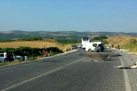 Türkiyədə ağır yol-nəqliyyat hadisəsi baş verib