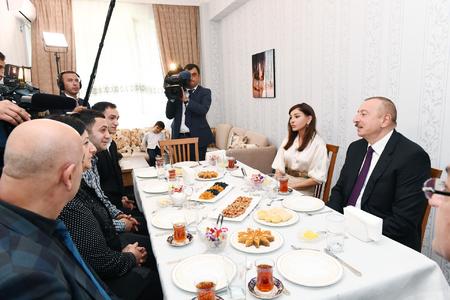 """Prezident İlham Əliyev: """"Bizim cəmiyyətimizdə qeyri-bərabərlik, təbəqələşmə, kasıblar olmamalıdır"""""""