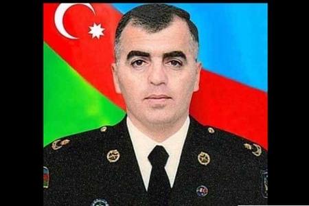 Bu gün şəhid olan mayor Omarovun FOTOSU