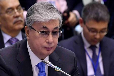 Qazaxıstanın yeni prezidenti Tokayevin andiçmə mərasimi keçirilir