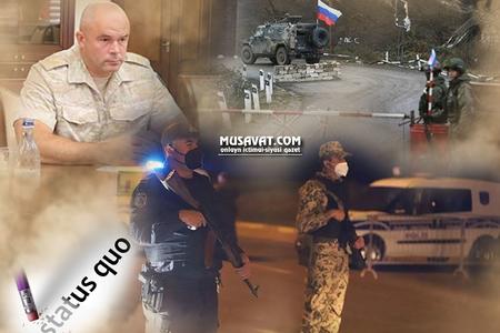Qarabağdakı rus sülhməramlılarının komandanının ŞOK ƏMƏLLƏRİ
