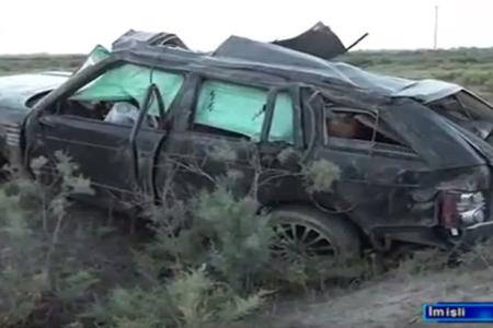 Avtomobil qəzasında yeddi nəfər ölüb