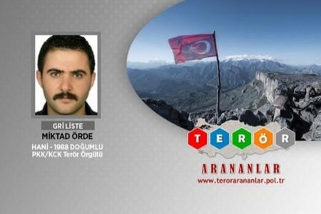 Türkiyədə axtarışda olan daha bir terrorçu zərərsizləşdirilib