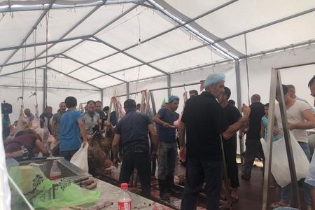 Bakıda heyvan kəsimi və satışı məntəqəsindən REPORTAJ