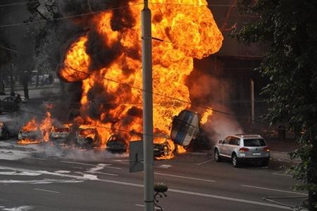 Sərxoş sürücü ağır qəza törətdi, 3 nəfər öldü