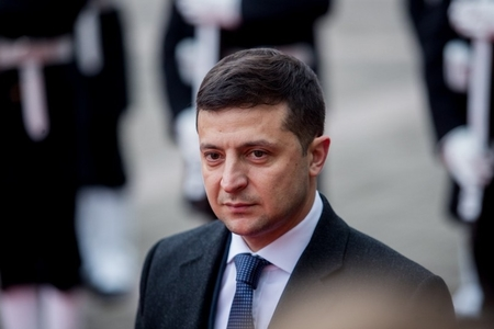 Ukrayna lideri BMT-nin baş katibi ilə görüşüb
