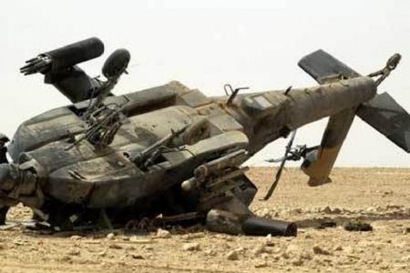 - helikopter qəzaya uğradı