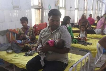 Hindistanda uşaqları öldürən epidemiya yayılıb