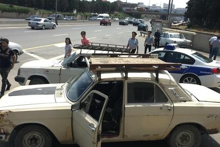 Yol polisi nasaz avtomobillərə qarşı sərt tədbirlərə başladı