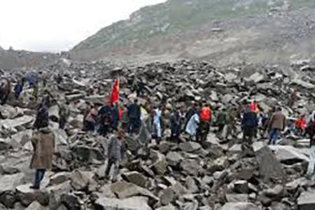 Çinin cənub-qərbində torpaq sürüşməsi nəticəsində 9 nəfər həlak olub