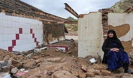 İranda sel nəticəsində 5158 kəndi su basıb