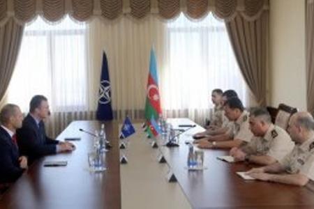NATO-nun Xüsusi Əməliyyatlar Qərargahının komandanı Bakıya gəlib