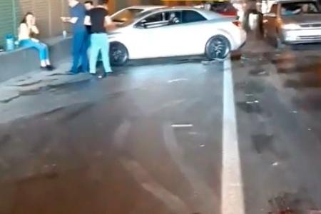 Bakıda tuneldə qəza – VİDEO