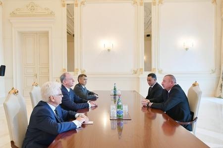 Prezident İlham Əliyev Rusiya Təhlükəsizlik Şurasının katibini qəbul edib