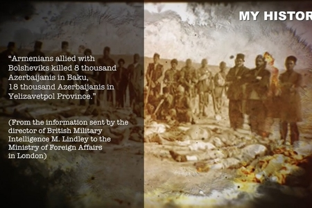 """Kanadada """"erməni soyqırımı"""" yalanları haqqında ingilis dilində videomaterial hazırlanıb - FOTO"""