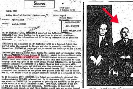 Adolf Hitlerin 1945-ci ilin mayında ölmədiyi ilə bağlı yeni məlumat yayıldı