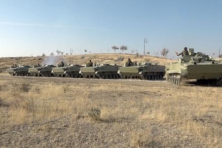 """Əlahiddə Ümumqoşun Orduda """"Ən yaxşı tank əleyhinə batareya"""" adı uğrunda yarış keçirilib- FOTO - VİDEO"""