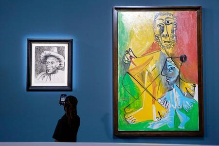 Pablo Pikassonun əl işləri hərracda 109 milyon dollara satılıb-