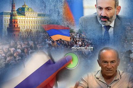 Ermənistanda əks-inqilab havası:
