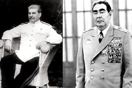 """Stalinin yasaqlanmış adını """"dirildən"""" Brejnev–"""