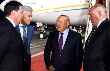 Nazarbayev Rusiyaya işgüzar səfərə gəlib