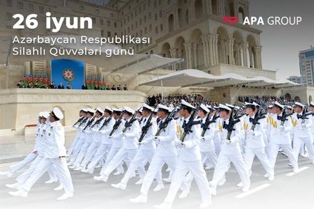 Azərbaycan Ordusu 101 yaşını qeyd edir