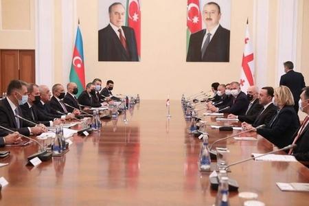 Azərbaycanla Gürcüstan arasında beş sənəd imzalanıb