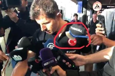 İslandiyada Türkiyə millisinə qarşı hörmətsizlik - VİDEO