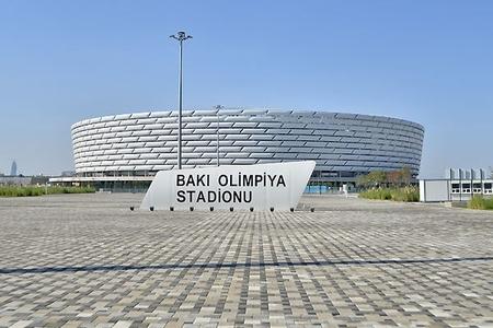 UEFA nümayəndələri Bakı Olimpiya Stadionuna ən yüksək qiyməti verdilər