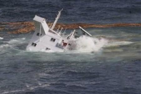 Türkiyə sahillərində gəmi batdı