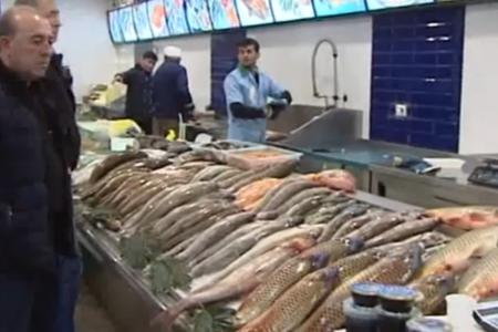 Balıq bazarında canlanma var - qiymətlər - VİDEO