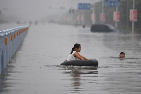 Çində 77 min insan daşqınlara görə təxliyə edilib