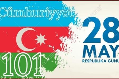 Azərbaycan Xalq Cümhuriyyətinin yaranmasından 101 il ötür