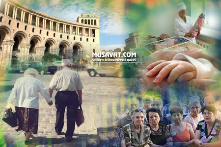 Ermənistan əhalisi sürətlə qocalır -