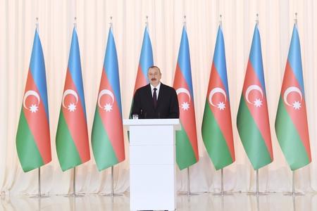 Azərbaycan Prezidenti Dövlət Bayrağı Günü münasibətilə video paylaşıb