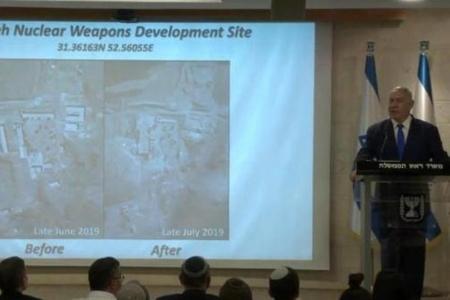 Bu görüntülər dünyada bomba effekti yaradacaq: Netanyahu canlı yayımda paylaşdı - VİDEO
