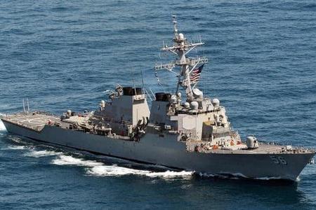ABŞ-a məxsus hərbi gəmi Qara dənizə daxil olub