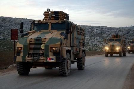 Türkiyə Suriyada Afrin bölgəsinə hərbi birliklər gətirdi
