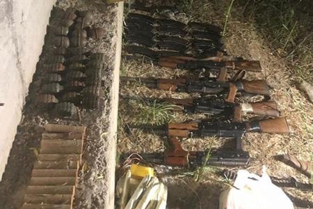 PKK terrorçularına məxsus cəbbəxana aşkarlandı